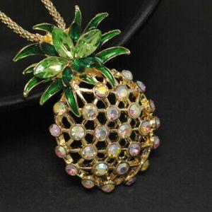 Betsey Johnson Pinapple Necklace
